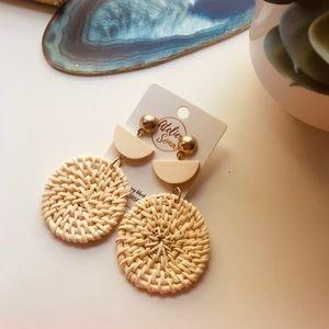 🆕🌞Woven Statement Earrings